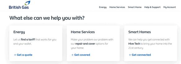 Digital copywriting for energy companies